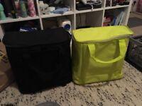 1x ikea single pannier bags - yellow