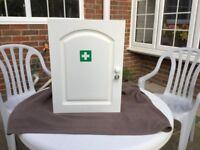 Bathroom cabinet / medicine or first aid cupboard
