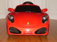 Ferrari - kids electric car (for inside or outside)