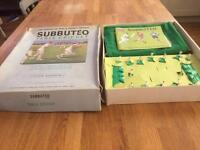 Vintage Subbuteo Cricket Game