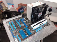 i7 CPU, MOTHERBOARD AND RAM BUNDLE