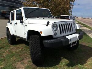 2016 Jeep WRANGLER UNLIMITED *SAHARA*UNLTD* DUAL TOPS*BIG WHEEL