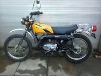 CLASSIC KAWASAKI G4TR TRAIL BOSS 100cc 1963 miles 10 gears