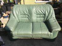 2 seater Leather Relyon Sofa