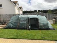 Vango Tigris 800 8 man tent unused AS NEW