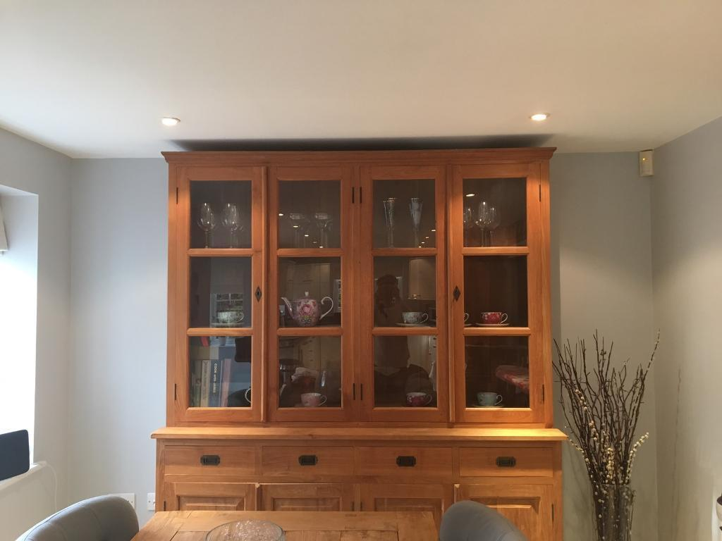 Solid teak kitchen Dresserin Sevenoaks, KentGumtree - This beautiful teak dressers is in fantastic condition and has only been used to store a few things. Rarely used. Moving house and doesnt fit. Paid £1700