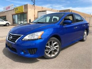 2014 Nissan Sentra 1.8 SR HOT ROD NICE LOCAL TRADE LOW KMS!