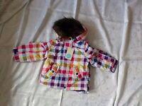 Mini Boden Girl's Coat Age 2-3