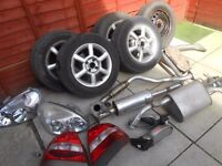 daewoo nubira spare parts from 51 plate