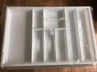 Cutlery drawer insert, brand new in packaging.