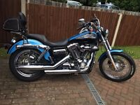Harley Davidson Dyna Superglide Custom 1584cc 6 Speed With lot of extra's. As new condition
