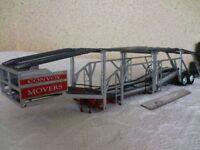 Revell model lorry car transporter trailer. 1/25 scale.