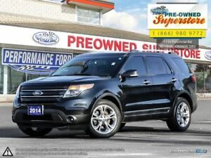 2014 Ford Explorer Limited***leather, AWD, NAV, moonroof***