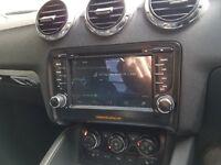 Audi TT 8J Sat Nav & Media System With Reverse Camera Compatability WiFi