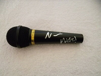 Nasri Hand Signed Microphone Magic! Autograph Mic Band Music Reggae Rude