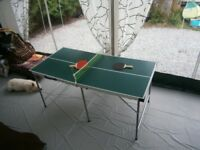 Tennis Table and Accessories
