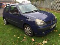 CHEAP RENAULT CLIO EXTREME 2 1.1 16v 75 BHP MOT MAY 2018 CHEAP TAX GREAT FIRST CAR