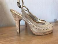 River Island shoes size 5 (worn once)