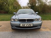 2003 Jaguar X-type V6 Petrol Manual New MOT Blue With Ivory Leather Seat WARRANTY PART EXCHANGE WELC