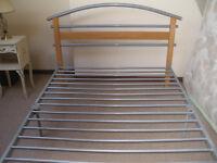 FOUR FOOT SIX Tubular metal FRAMED BED