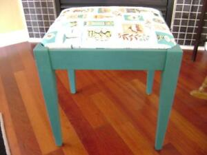 Retro sewing stool