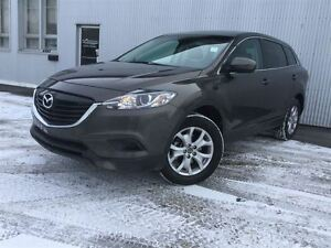 2015 Mazda CX-9 AWD, 7 PASS, LEATHER, SUNROOF, BACKUP CAME