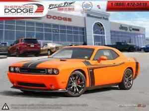 2014 Dodge Challenger SRT|HEMI V8|PREMIUM AUDIO|SUNROOF|HTD LTHR