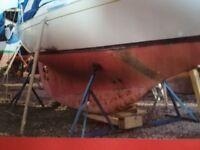 Portable Yacht Cradle