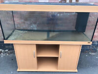 5ft Juwel Rio 400 in beachwood marine tropical fish tank aquarium