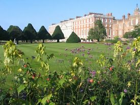 SUMMER GARDENERS - HAMPTON COURT PALACE