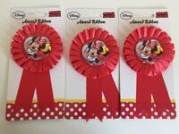 Wholesale Job Lot Licensed Disney Rossettes X 141