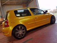 2005 Liquid Yellow Renault Clio 182 - Recaros/Ktec Exhaust
