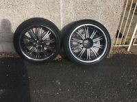 """Mitsubishi L200 alloy wheels and tyres 22"""""""