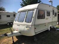 Caravan 4/5/6 berth Swift Danette 1992 lovely condition full awning available