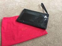 Valentino Rockstud clutch - Black patent leather