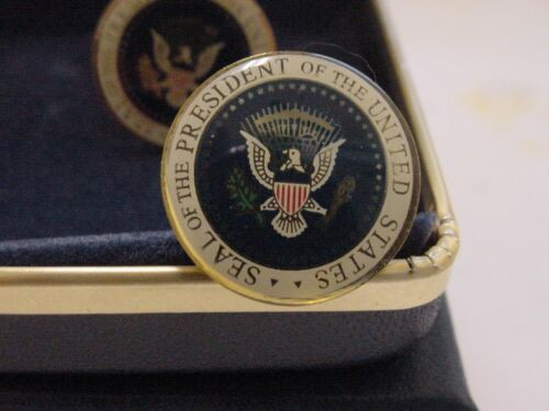 Presidential Ronald Reagan  Cufflinks -  Color Seal