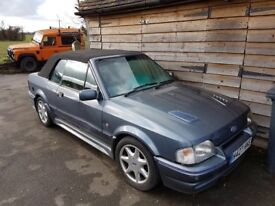 Ford Escort Cabriolet - RARE WITH SE500 LEATHER !! :-)
