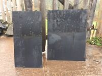 Artificial Roof Tiles - approx. 150 used tiles for sale. In good condition. Pick up only.