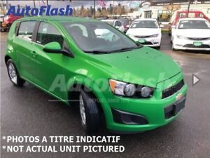 2015 Chevrolet Sonic LT Hatchback * Bluetooth * A/C * Cruise *