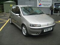 2001 Fiat Punto 1.8 HGT 3 DOOR - 102000K - 11 MONTHS MOT no advisories