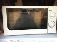Sainburys 17Litre microwave, virtually new