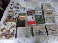 COLLECTION OF NATURAL HISTORY AND SHOOTING BOOKS,SEE PHOTO.