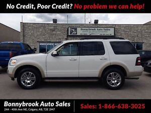 2010 Ford Explorer Eddie Bauer LEATHER NAVIGATION 7 PASSENGER