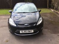 Ford Fiesta 1.4 TDCI Zetec £20 Tax 5 Door, Long Mot Diesel Black