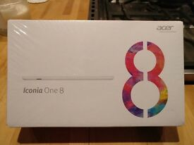 Brand New Sealed Acer Iconia tab 8