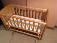 Swinging crib for sale