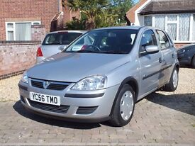 2006 Vauxhall Corsa 1.2 Life Twinport, 28,000 Miles, Full Service History