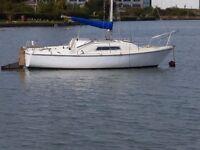 Boat/Yacht Parker seal trailer sailer