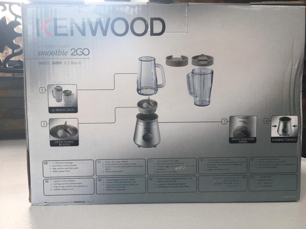 Kenwood Smoothie 2go BNIB