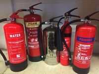 Fire Extinguishers x 50 various